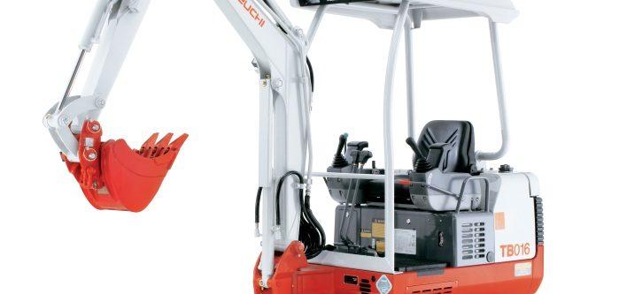 Mini-Excavadora 5000 Kg